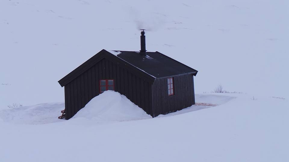 Gammel hytta i Stordalen