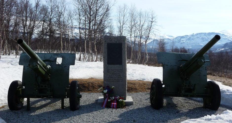 Krigsminnesmerke på Lapphaugen