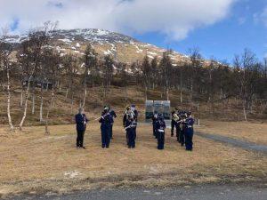 Korps på Lapphaugen